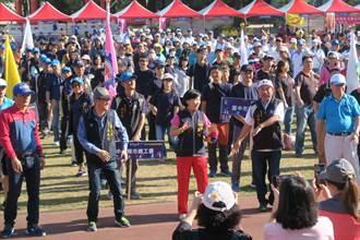 勞資趣味競賽豐原登場 1500人組隊同歡