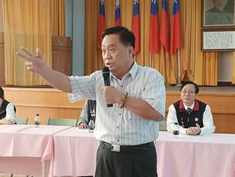 翁重鈞接王啟澧競總主委 讓嘉縣綠地變藍天