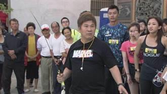 胡瓜親自示範「武術拍氣球」 身手矯健像一尾活龍