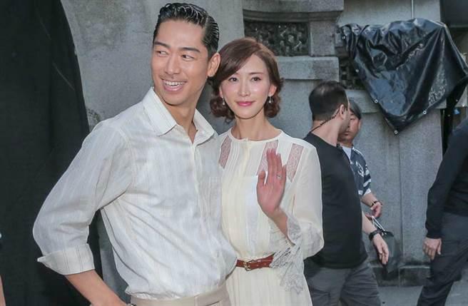 林志玲與老公Akira昨已在台南進行婚禮彩排。(中時資料照片)