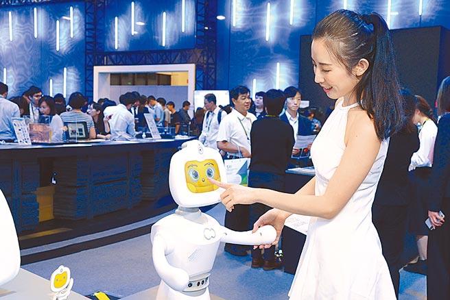 麗暘科技開發小貝智能機器人,讓未來智能生活充滿想像。圖/工研院提供
