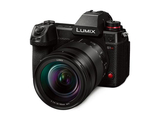 Panasonic新推出頂級全幅無反光鏡相機LUMIX S1H。圖/業者提供