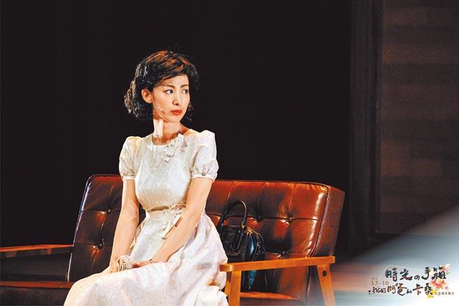大久保麻梨子在台首次主演舞台劇,演技自然生動深獲好評。(大久保麻梨子提供)