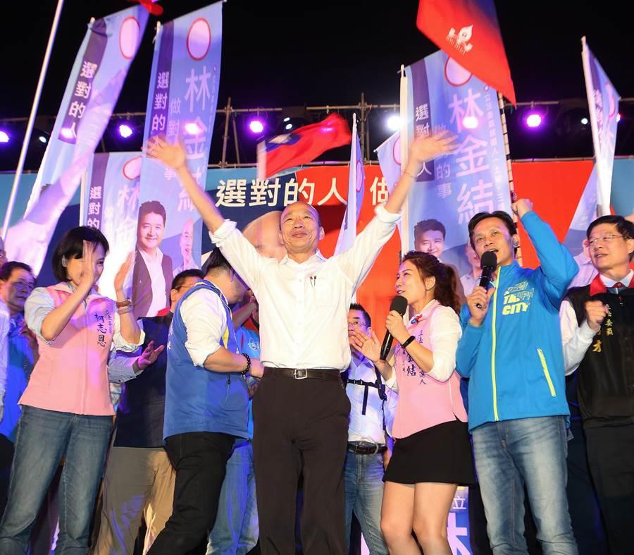 國民黨總統參選人韓國瑜。(圖/資料照片)