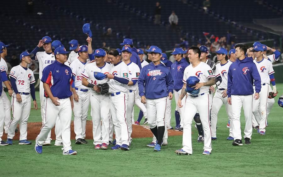 12強中華隊表現精彩,不過仍要打明年奧運資格賽。(中央社資料照)