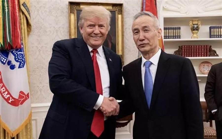 大陸國務院副總理、中美全面經濟對話中方牽頭人劉鶴。(央視)
