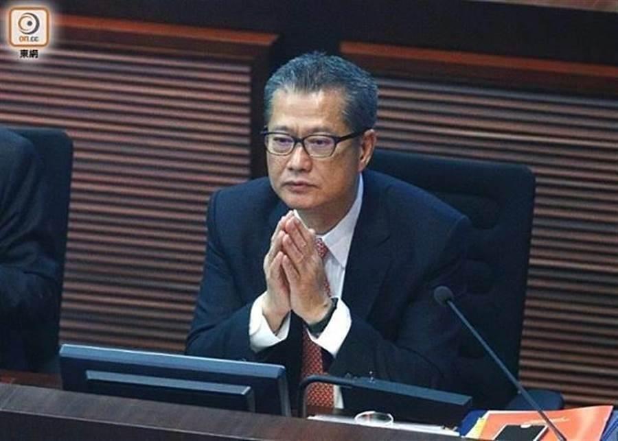 香港財政司司長陳茂波。(圖/東網)