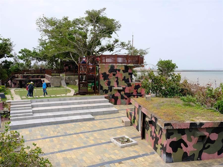 金門縣府在1997年接管建功嶼,闢建為離岸觀光據點。(李金生攝)