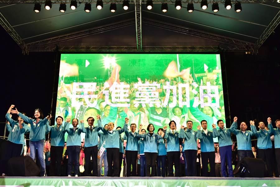 民進黨中央提供