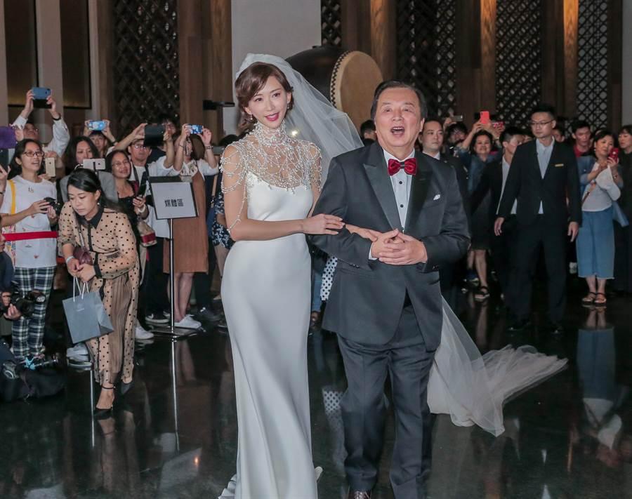 林志玲舉行盛大世紀婚禮,網友狂猜下次這樣的婚禮將會由誰舉辦。(圖/盧禕祺攝)