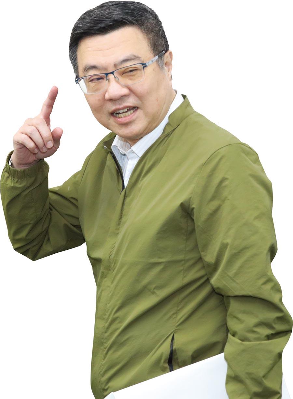 麥擱卡!? 民進黨主席卓榮泰,曾在謝長廷內閣任行政院發言人,當時他的手機答鈴是台語歌《請你麥擱卡》。圖/本報資料照片