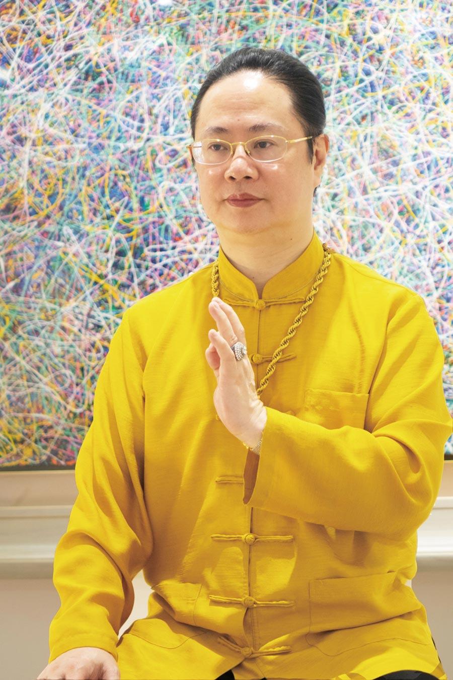 國際藝術大師暨宗教家陳金龍。圖/陳金龍提供