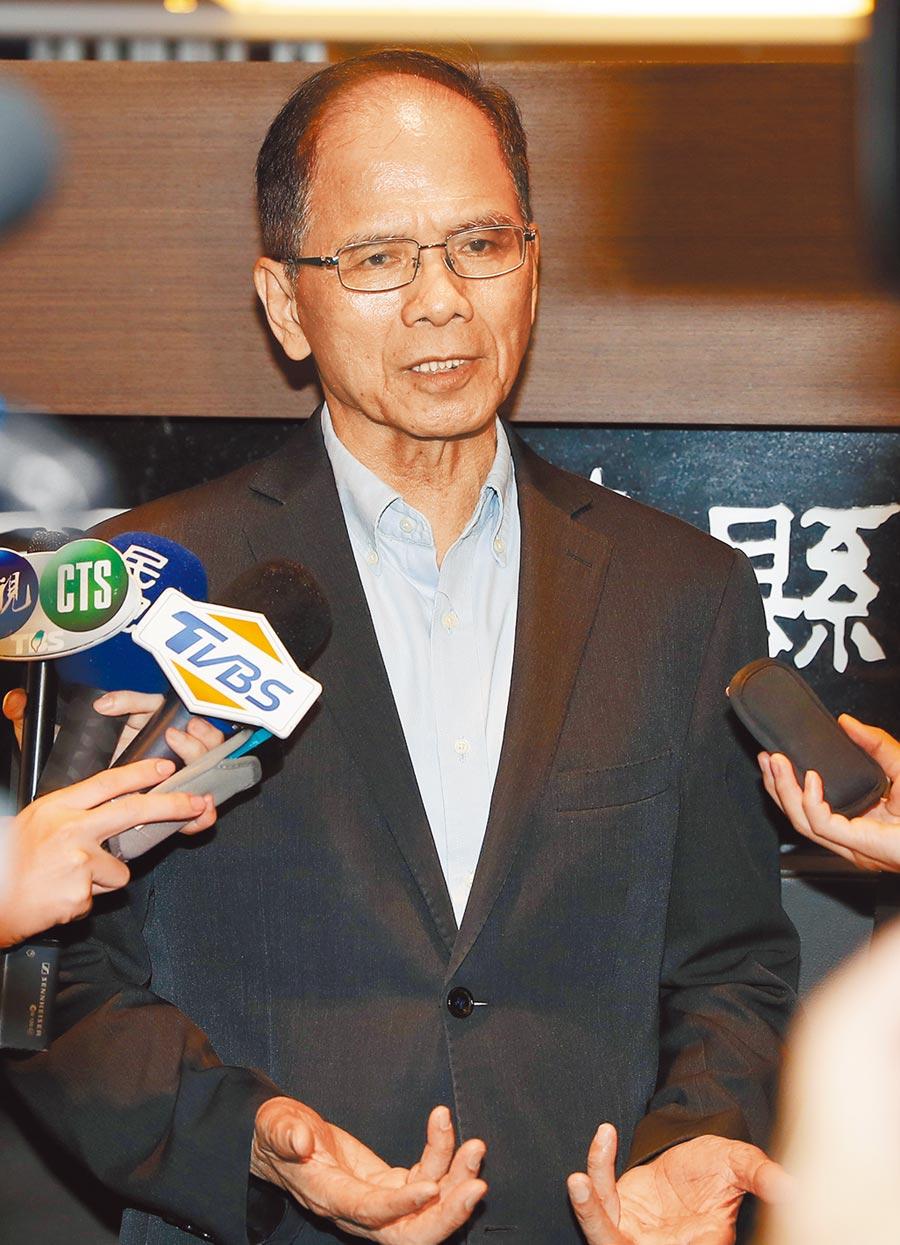 前行政院長游錫堃16日出席「台灣國家永續發展」論壇,喊出力促台美建交。(本報資料照片)