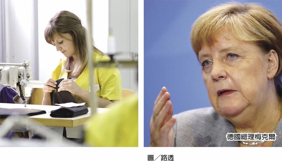 德國經濟的矛盾圖╱路透