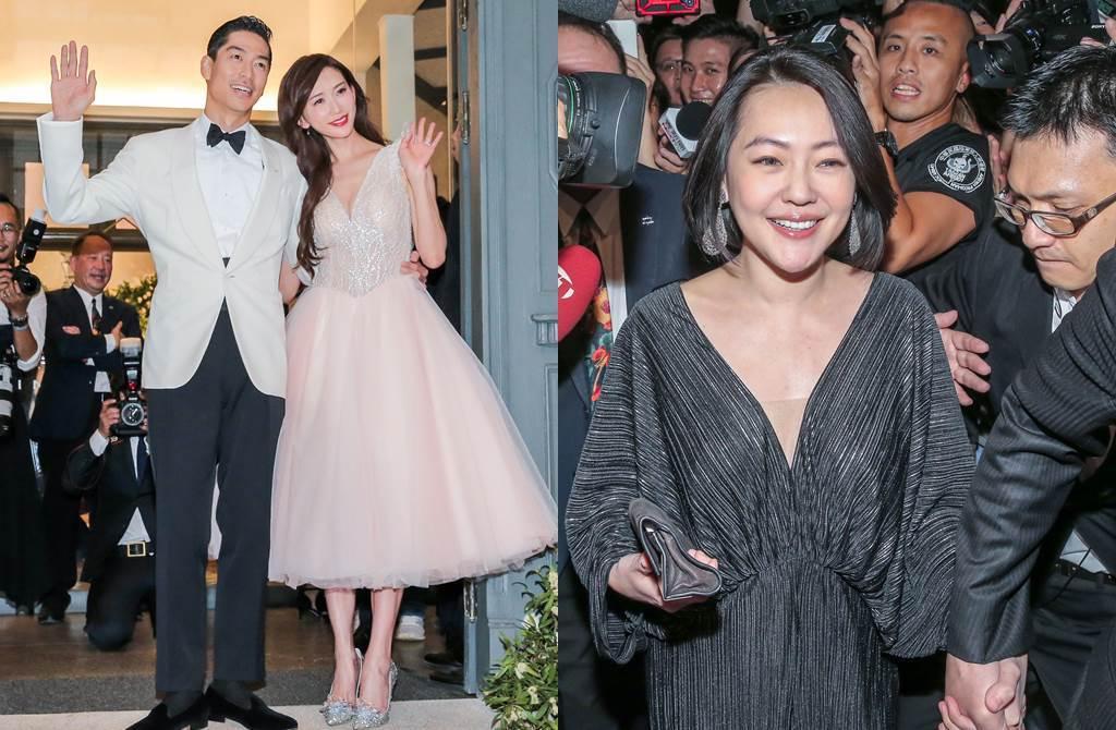 林志玲17日和AKIRA舉辦婚宴,小S是座上賓。(圖/盧禕祺攝)