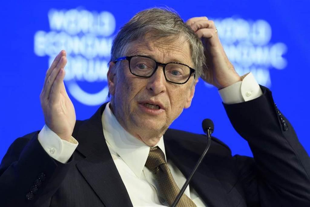 微軟聯合創辦人比爾·蓋茨(Bill Gates)。圖/美聯社