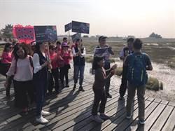 清水區公所高美溼地熱舞快閃 宣傳台灣燈會在台中