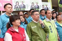 藍綠支持度戰成平手 卓榮泰:引以為戒