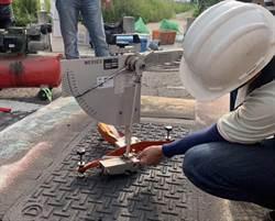 人孔蓋不再是馬路地雷 高抗滑新式環保塗料來幫忙