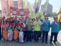 卓榮泰陪立委參選人登記 標榜「無私」暗諷吳敦義