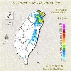 低溫降雨 北北基宜大雨特報