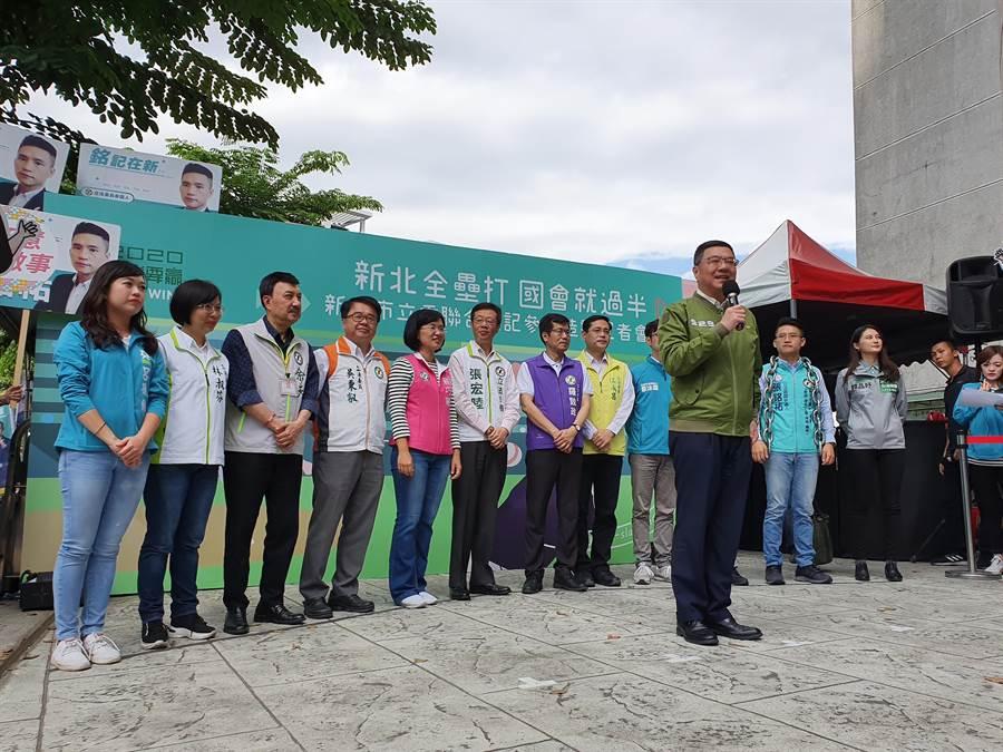 民進黨主席卓榮泰表示,黨有黨紀,一旦違紀參選,黨紀一定盡速嚴明處理。(葉書宏攝)