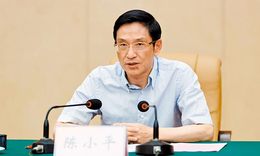 9月28日,江西省環境保護廳黨組書記、廳長陳小平直接晉升江西副省長。(取自澎湃新聞)