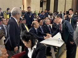 韓國瑜回擊 總統府在等一個良心