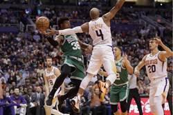 NBA》綠衫軍射下太陽 追平湖人聯盟第一