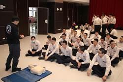 新北法紀教育在職訓練  災害防救課程增進役男危機反應