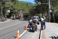 日月潭周邊公路防超速、噪音 警方與環保人員鐵腕取締