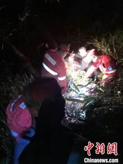 18名驢友被困浙江江山 多單位極速救援