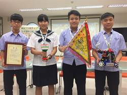 王爺令旗陪出征 德光中學抱回國際奧林匹亞機器人世界冠軍
