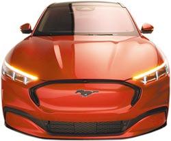 福特硬尬特斯拉 發表電動休旅車Mach-E