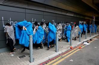 香港理大1100人被捕或登記 200人未成年