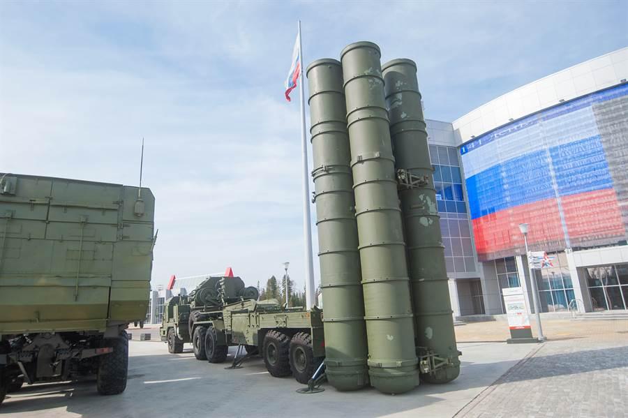 俄羅斯S-400防空系統的檔案照。(達志影像/Shutterstock)