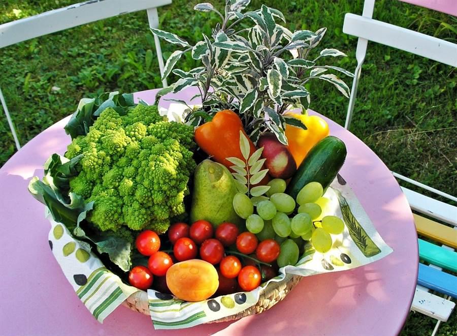 新研究證實,每天攝取蔬果的量愈多,老後記憶力和腦力的喪失會越少。(圖/pixabay)