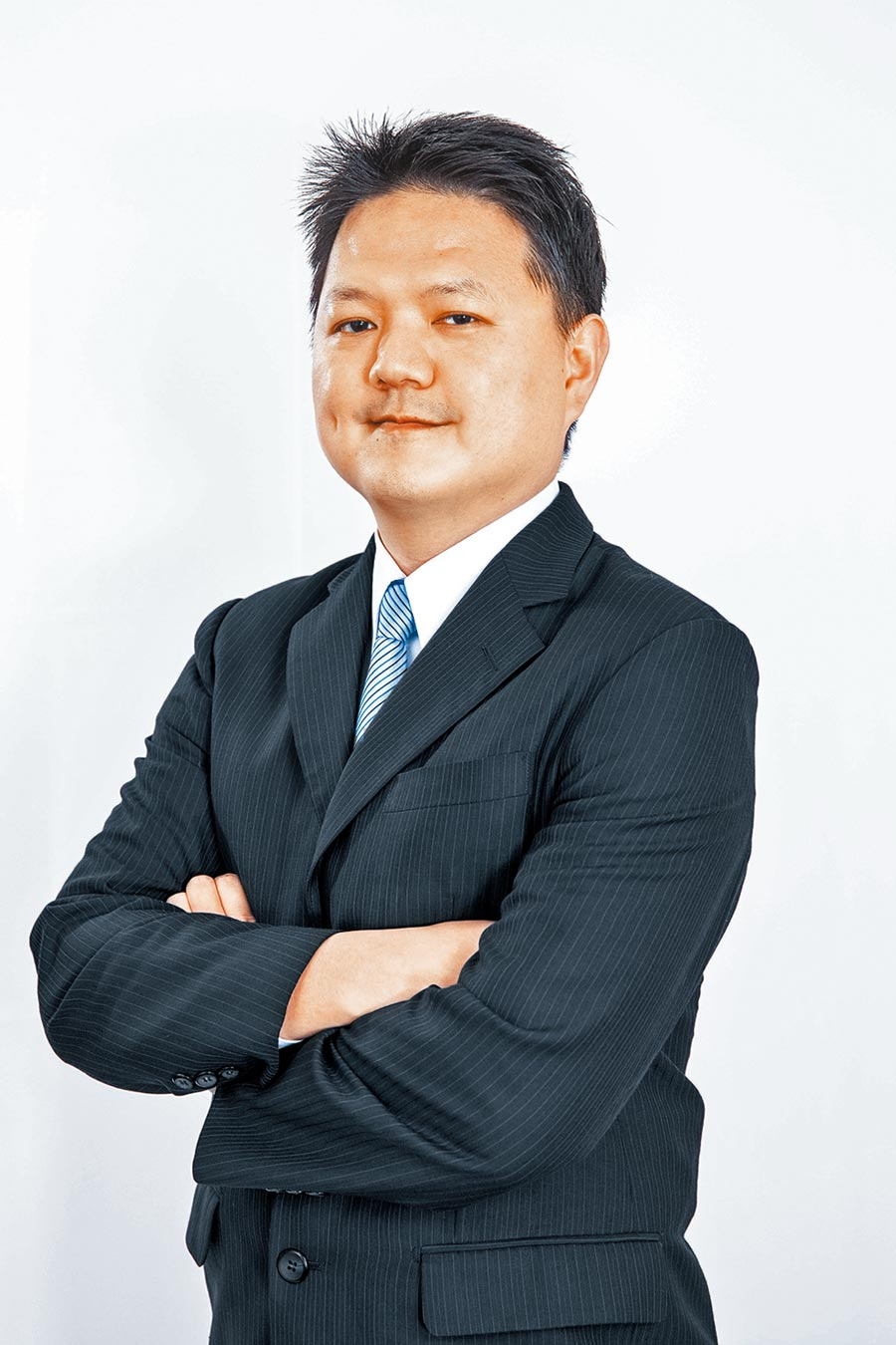 富兰克林华美10至25年期投资级美元公司债ETF基金拟任经理人黄钰民。(富兰克林华美提供)