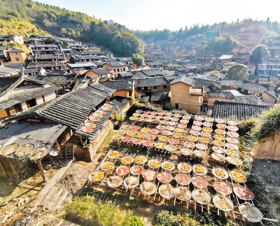 福建尤溪縣的古民居,始建明代末期。是尤溪當地官商往來福州的中轉地。(記者陳文攝)