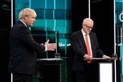 英國大選首場電視辯論 強森柯賓針鋒相對