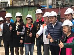 新莊民安國小校舍改建進度超前 力拚明年12月底完工