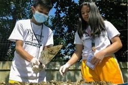 菲律賓中學生嘗試用狗便便製造建築用磚頭