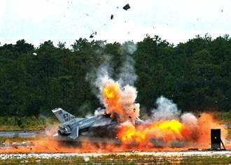 1年30架 美退役F-16變無人靶機
