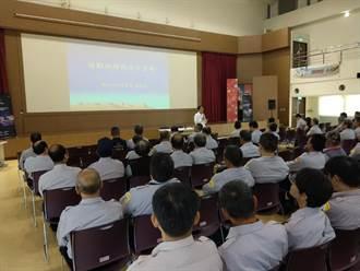 喜迎台灣燈會 中市警六分局結合守望相助宣導安全