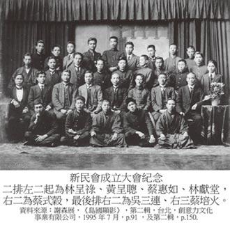 兩岸史話-非武裝抗日啟蒙運動