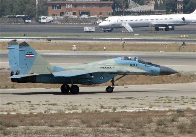 伊朗的MiG-29戰機,並非是向俄國購得,而是伊拉克空軍逃過來的。(圖/defenseworld)