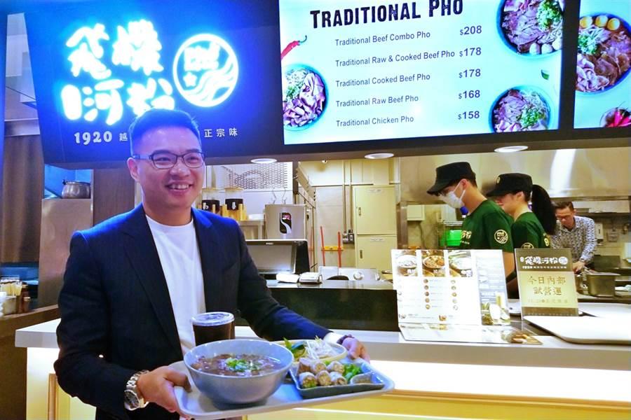 韓式連鎖餐飲集團豆府董事長吳柏勳。(資料照,記者林資傑攝)