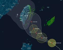鳳凰侵台機率曝光 吳德榮:創下28年來最多11月颱紀錄