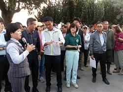農委會主委陳吉仲視察雲林花生收購 遭嗆下台