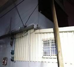 新竹強風吹斷饋線 6千多戶黑漆漆